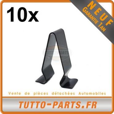 x10 agrafe Clips fixation panneau de porte pour Audi VW Seat Skoda