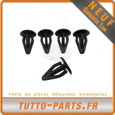 x5 agrafe Clips garniture panneau Hayon pour Seat Toledo VW Golf
