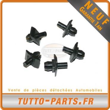 x5 agrafe Clips Fixation Calandre pour VW Golf 1 Jetta 1 T2