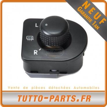 Commutateur Bouton Réglage Rétros pour VW