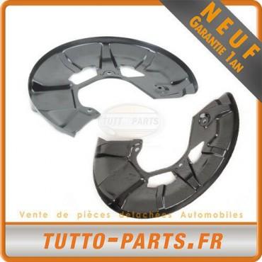 2 Protections Disque De Frein Avant Gauche + Droit Audi 80 90 Passat 321615311A