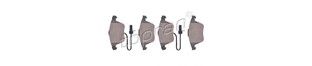 Plaquettes de freins Peugeot Citroen Renault VW Audi BMW Mercedes Seat